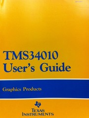 Cover of: TMS34010 user