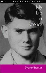 Cover of: My Life in Science (Lives in Science)