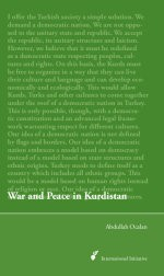 War and Peace in Kurdistan by Abdullah Öcalan