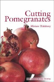 Cover of: Cutting pomegranates