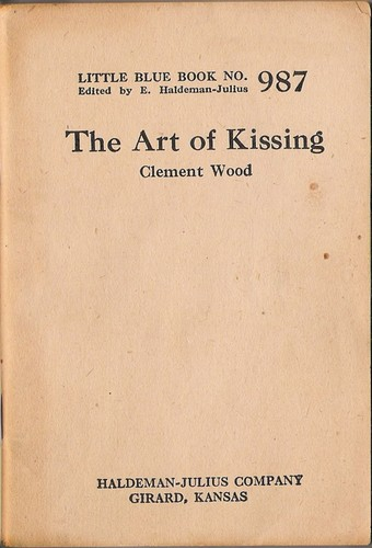 The art of kissing by Wood, Clement
