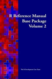 Cover of: R Reference Manual