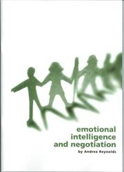 Cover of: Emotional Intelligence and Negotiation