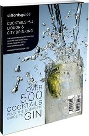 Cover of: Diffordsguide to Cocktails, Liquor and City Drinking