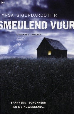 Smeulend vuur by