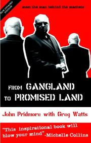 Cover of: FROM GANGLAND TO PROMISED LAND