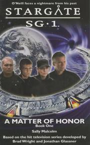 Cover of: Stargate SG-1: A Matter of Honor