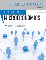 Cover of: Intermediate microeconomics: a modern approach, fourth edition. Instructor's manual and test-item file