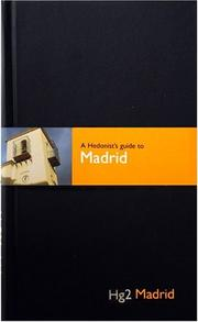 Cover of: A Hedonist's Guide to Madrid