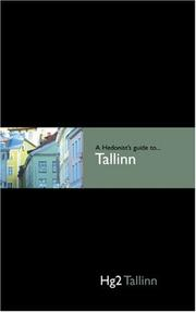 Cover of: A Hedonist's Guide to Tallinn