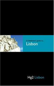 Cover of: A Hedonist's Guide to Lisbon