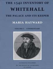 Cover of: The 1542 Inventory of Whitehall