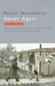 Cover of: Never Again Britain 45/51