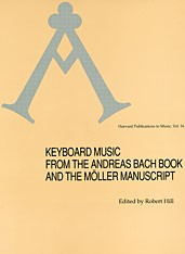 Cover of: Keyboard music from the Andreas Bach Book and the Möller Manuscript