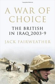 Cover of: A war of choice