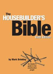 Cover of: The Housebuilder's Bible