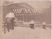 Cover of: The storm, Washington, D.C., Jan. 27, 28, 1922