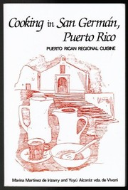 Cover of: Cooking in San German, Puerto Rico by