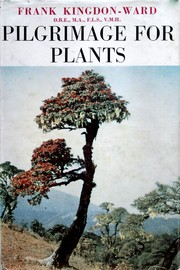 Cover of: Pilgrimage for plants. | Francis Kingdon Ward