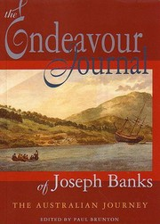 Cover of: The Endeavour journal of Joseph Banks: the Australian journey