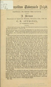 Cover of: Crowding to touch the saviour | C. H. Spurgeon