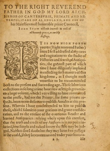 [Annals of England to 1603] by John Stow