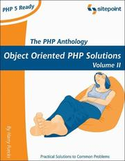 Cover of: The PHP Anthology, Volume II