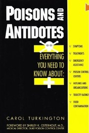 Poisons and antidotes (1994 edition) | Open Library