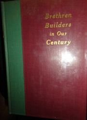 Cover of: Brethren builders in our century |