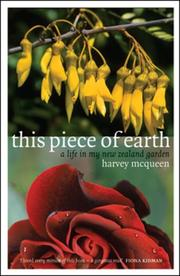 Cover of: This Piece of Earth