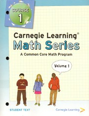 Cover of: Carnegie Learning Math Series |