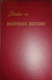 Cover of: Studies in Brethren history | Floyd E. Mallott