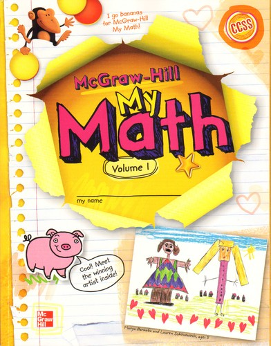 3rd Grade McGraw Hill My Math Workbooks Vol. 1 Brand New