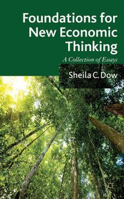 Cover of: Foundations for new economic thinking | Sheila C. Dow