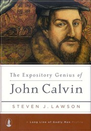 Cover of: The Expository Genius of John Calvin |
