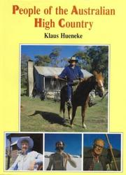 Cover of: People of the Australian high country