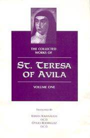 Cover of: The collected works of St. Teresa of Avila | Teresa of Avila