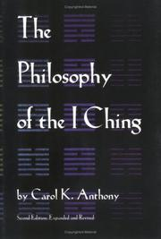 Cover of: The philosophy of the I ching