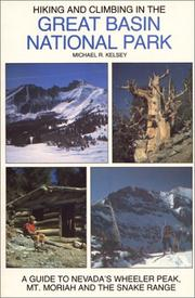 Cover of: Hiking and climbing in the Great Basin National Park