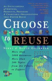 Cover of: Choose to reuse