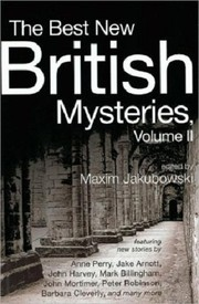 Cover of: The Best New British Mysteries II |