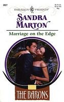 Cover of: Marriage on the edge. | Sandra Marton