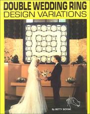 Cover of: Double Wedding Ring Design Variations