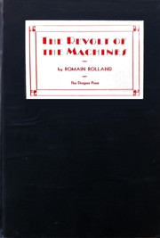Cover of: The revolt of the machines: or, Invention run wild; a motion picture fantasy