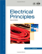 Cover of: Electrical principles