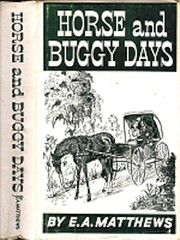 Cover of: Horse and buggy days