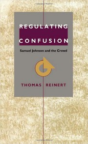 Cover of: Regulating confusion