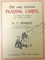Cover of: Old and curious playing cards, their history and types from many countries and periods