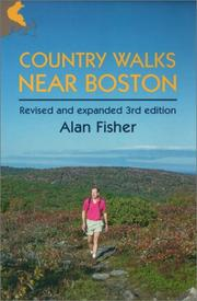 Cover of: Country Walks Near Boston (Country Walks Book) | Alan Fisher