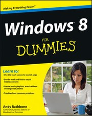 Cover of: Windows 8 for Dummies